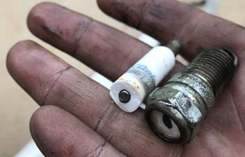 What Does A Broken Spark Plug Mean
